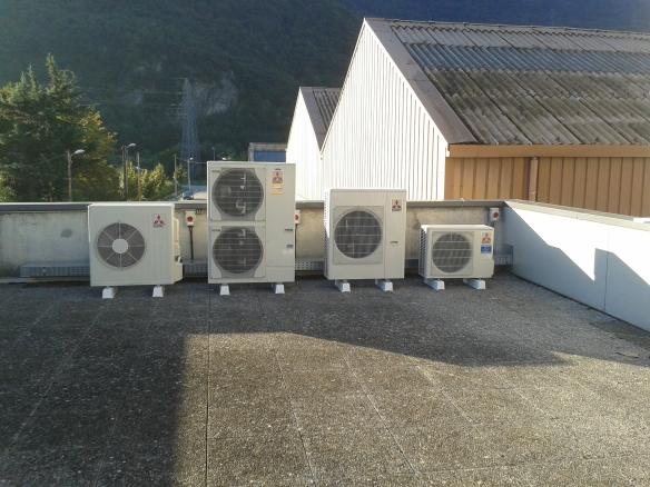 Fin du réglage des climatiseurs mitsubishi