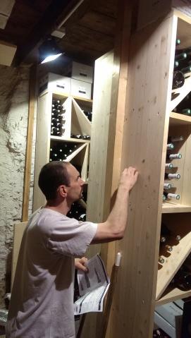 Technicien: FRANCK GARDET Catégorie: Cave à vins