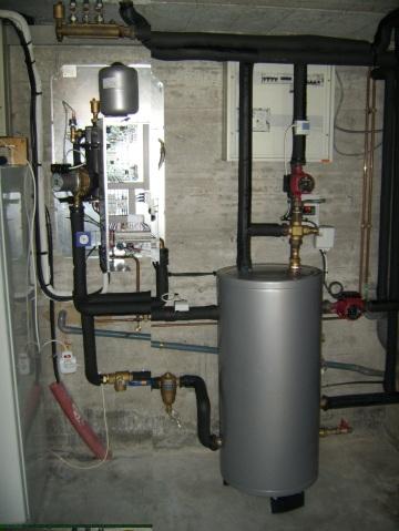 Installation d'une pompe à chaleur air eau Ajtech Mitsubishi