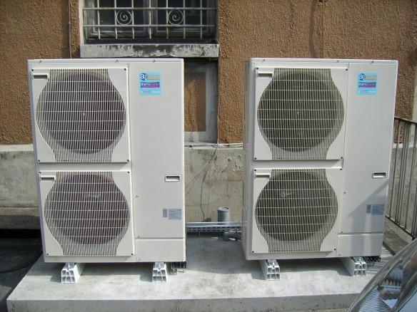 Fin de la mise en fonction des pompes à chaleur air eau Ajtech Mitsubishi